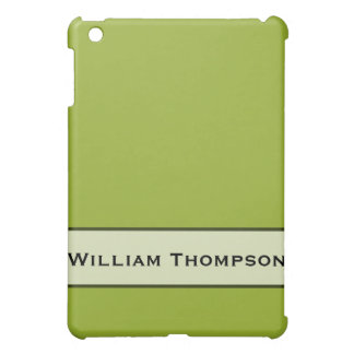 Personalized Chartreuse Green Case For The iPad Mini