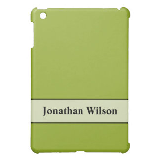 Personalized Chartreuse Green iPad Mini Cases
