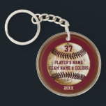 "Personalized Cheap Baseball Gifts for Boys Keychain<br><div class=""desc"">Personalized Baseball Keychains are Cheap Baseball Gifts for Boys or Coaches. Type in your special message, jersey number, name, team name, year or your text or delete it. Cheap baseball keychains are unique baseball gifts for players. Great senior night baseball ideas for players. CALL Rodney or the Designer Linda to...</div>"