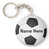 Personalized Cheap Soccer Gifts for Girls & Boys Keychain
