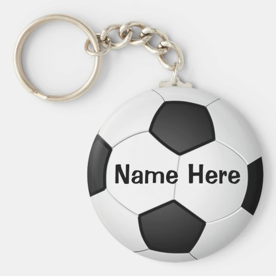 personalized cheap soccer gifts for girls boys keychain zazzle com