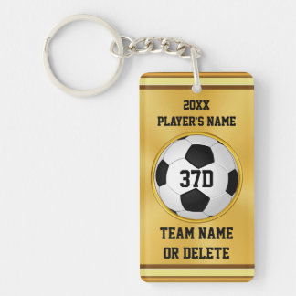 Personalized Cheap Soccer Gifts, Soccer Keychains