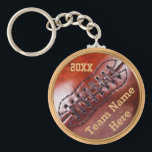 """PERSONALIZED Cheap Vintage Football Team Gifts Keychain<br><div class=""""desc"""">PERSONALIZED Cheap Vintage Football Team Gifts for Players. Type the TEAM NAME or each Player&#39;s NAME and the YEAR or the Team INITIALS in the Two (2) text boxes to your right below &quot;Edit this design tool&quot;. For multiple different player&#39;s names and jersey numbers, customize ONE football keychain at a...</div>"""