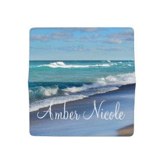 Personalized Check Book Cover/Beach Checkbook Cover