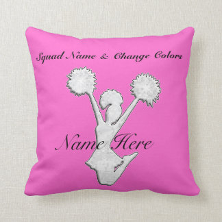 Personalized Cheer Team Gift Ideas Pillows