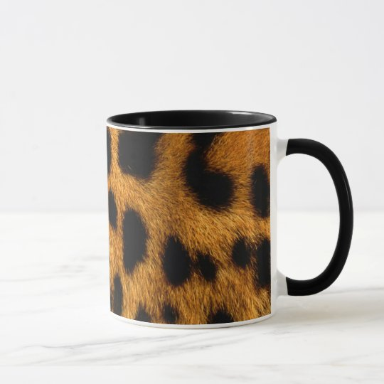 Personalized Cheetah Mug