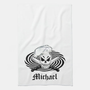 Personalized Chef Towel at Zazzle
