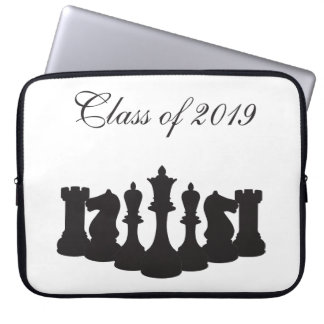 "Personalized Chess Graduation 15"" Laptop Sleeve"