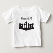 Personalized Chess T-Shirt for Baby Girls
