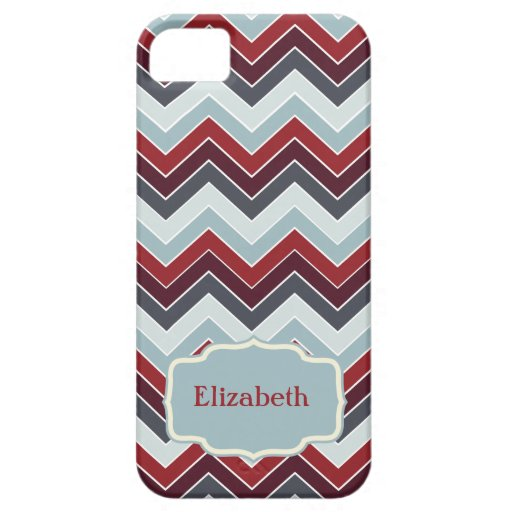 Personalized {chevron pattern} iPhone 5 cover