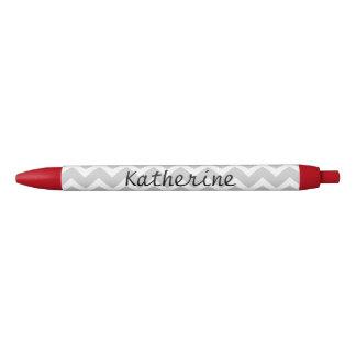 Personalized Chevron Zigzag Custom Monogram Pens