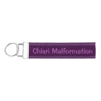 Personalized Chiari Awareness Wrist Key Chain Wrist Keychain