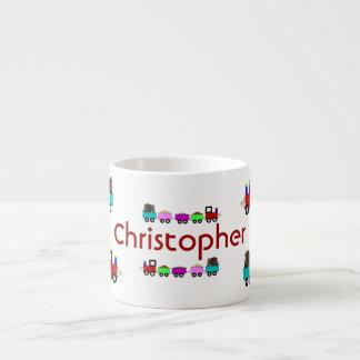 Personalized Child Choo Choo Train Child's Mug