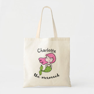 Personalized Children's Mermaid Tote