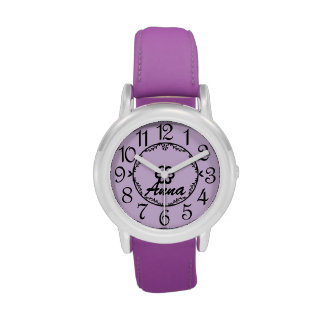 Personalized Children's Name Watch Watch