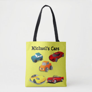 "Personalized Child's ""Toy Cars"" Bag"