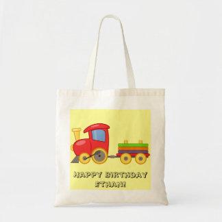 Personalized Child's Train Bag