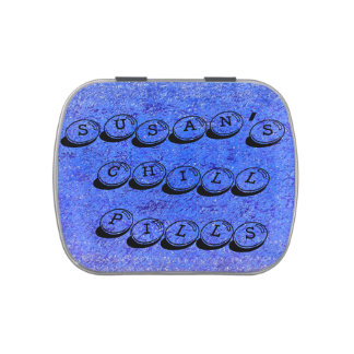 Personalized Chill Pills Jelly Belly™ Candy Tin