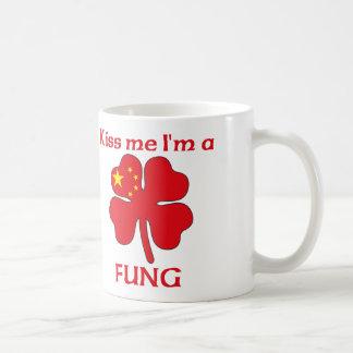 Personalized Chinese Kiss Me I'm Fung Classic White Coffee Mug