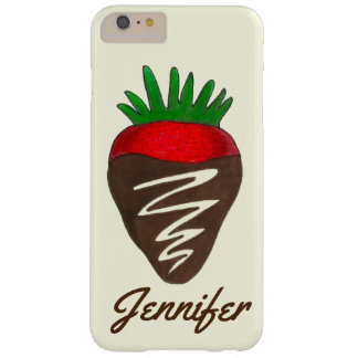 Personalized Chocolate Strawberry Valentine Case