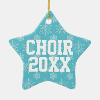 Personalized Choir Music Christmas Ornament Gift