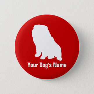 Personalized Chow Chow チャウ・チャウ Button