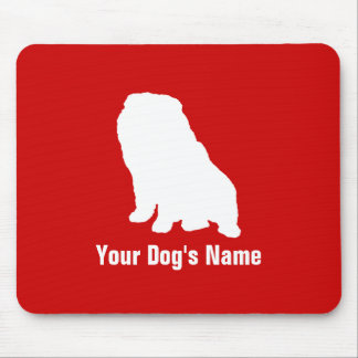Personalized Chow Chow チャウ・チャウ Mouse Pad