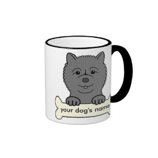 Personalized Chow Chow Ringer Coffee Mug