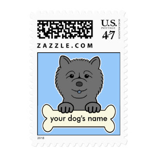 Personalized Chow Chow Postage