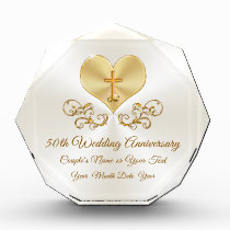 Personalized Christian 50th Anniversary Gifts