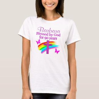 PERSONALIZED CHRISTIAN 90TH BIRTHDAY DESIGN T-Shirt
