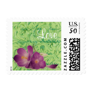 Personalized Christian Fruit of the Spirit Postage