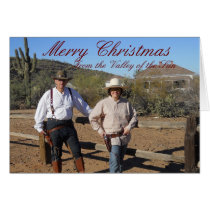 Personalized Christmas Card from Valley of the Sun