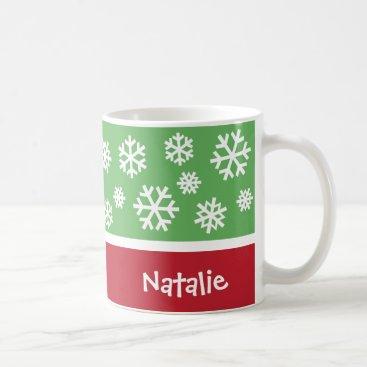 Christmas Themed Personalized Christmas Coffee Mug