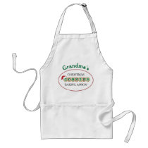 Personalized Christmas Cookies Baking Adult Apron