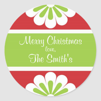 Personalized Christmas Gift Sticker
