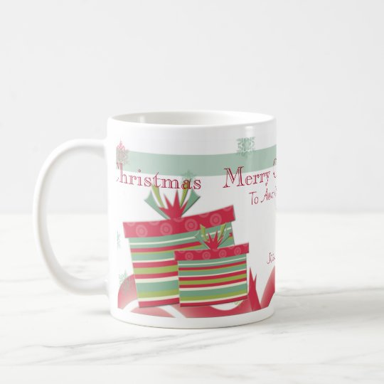 Personalized Christmas Gifts Aunts & Uncles Photo Coffee Mug