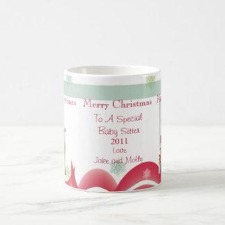 Personalized Christmas Gifts Babysitter Photo Mugs