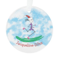 PERSONALIZED Christmas Holiday Lady Runner