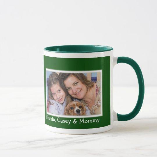 Personalized Christmas Holiday Photo Mug