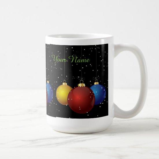 Personalized Christmas Mug, Gift, Houseware Coffee Mug