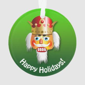 Personalized Christmas Nutcracker Cartoons Ornament