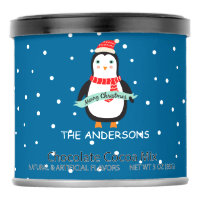 Personalized  Christmas Penguin