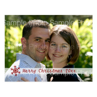 Personalized Christmas Photo Card