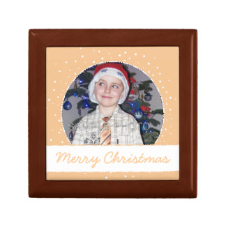 Personalized Christmas Photo Frame Sandy Gift Box