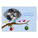 Personalized Christmas Photo Greeting Card
