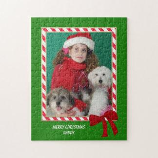 Personalized Christmas Photo Jigsaw Puzzle