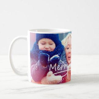 Personalized Christmas Photo Mug