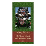 Personalized Christmas Photocard Photo Card