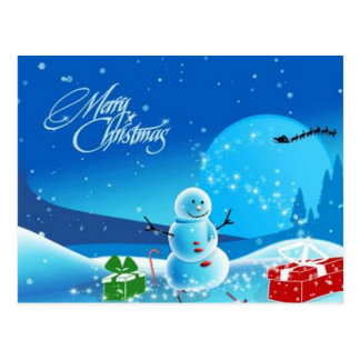 PERSONALIZED CHRISTMAS POST CARDS